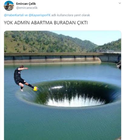 Caner Erkin Kayserispor Twitter Haber Kartalı