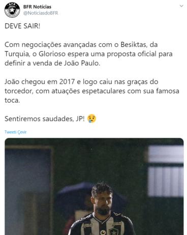 joao paulo beşiktaş